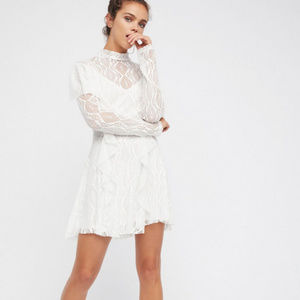 NWT Free People Rock Candy Lace Dress
